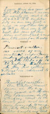 William Henry Baker Diary, 1864